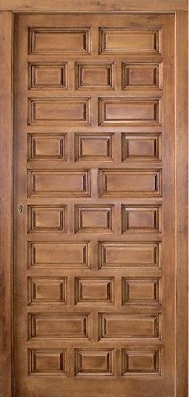 Madera maciza for Puertas de entrada de madera maciza