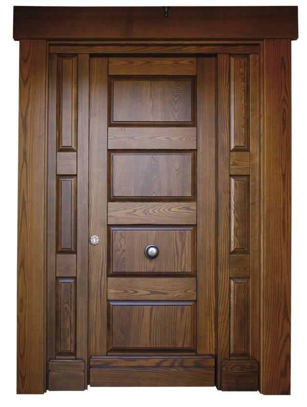 Puertas de exterior for Puertas de madera maciza exterior