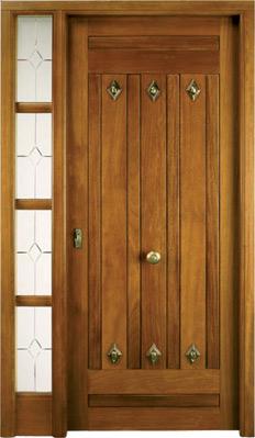 Puertas de exterior r sticas for Ver puertas de madera